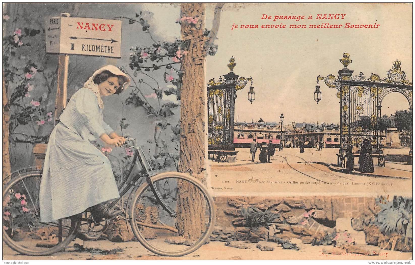 54 - MEURTHE ET MOSELLE / Nancy - 544922 - Belle Carte Fantaisie - Nancy