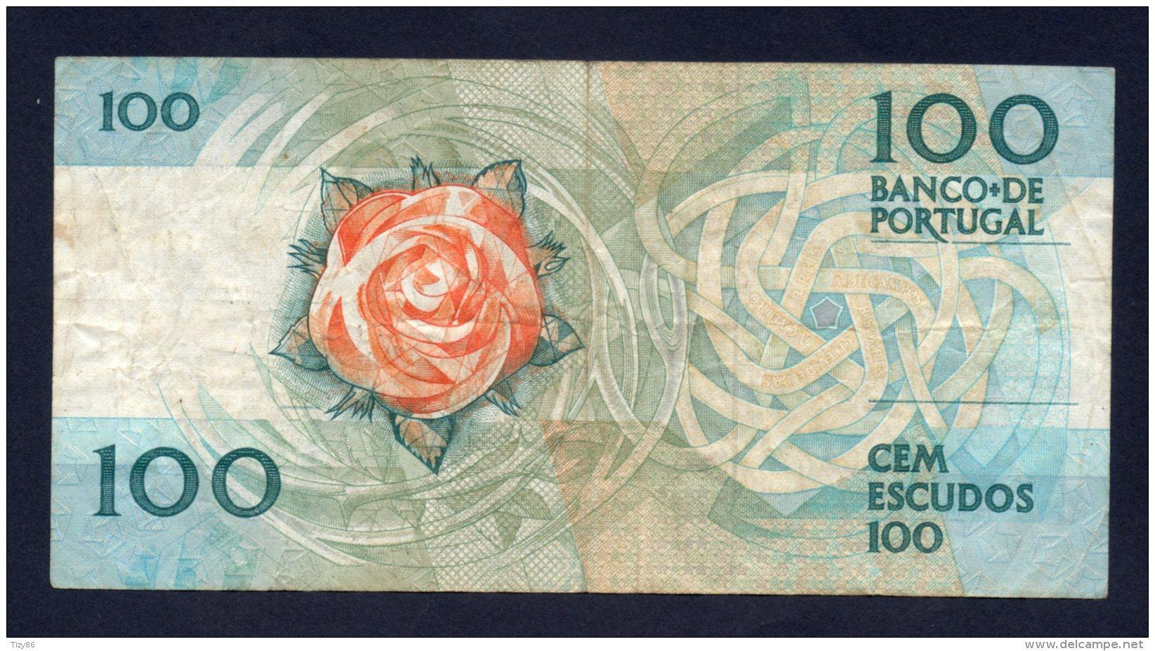 Banconota Portogallo - 100 Scudi 3/12/1987 - Portugal