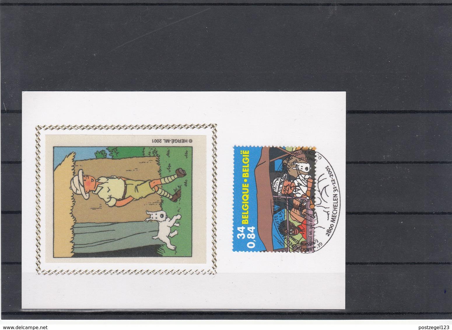 België / Kuifje - Tintin / Carte Philathélique - Childhood & Youth