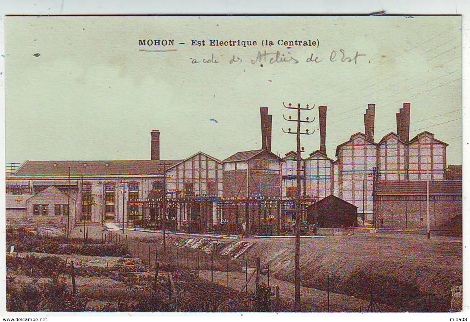 08. MOHON . EST ELECTRIQUE . ( La Centrale ) - Other Municipalities