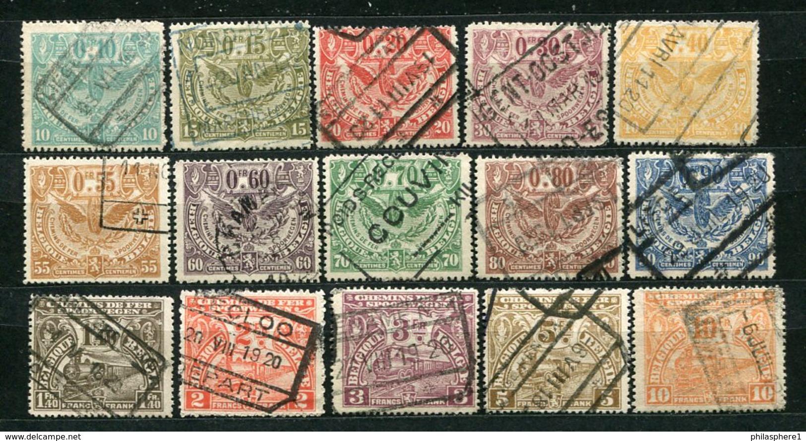 Belgien Ex.EP Nr.79/99        O  Used       (888) - Bahnwesen