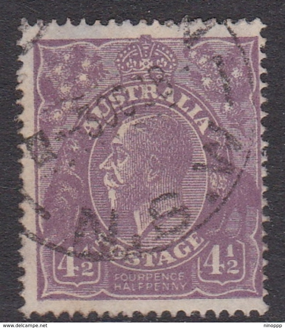 Australia SG 81 1924 King George V,Four And Half Violet,Single Watermark, Used - Used Stamps