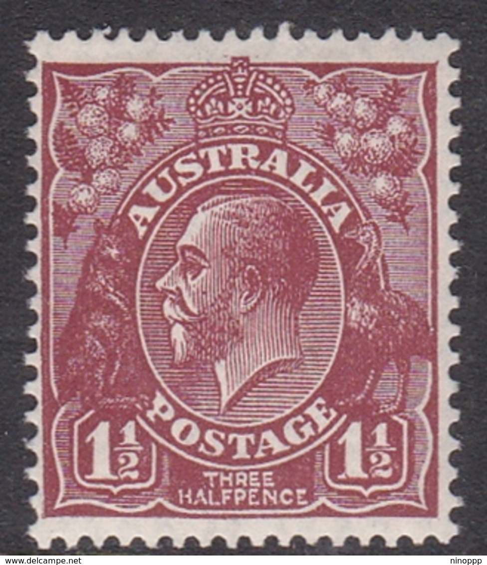Australia SG 97 1930 King George V,1.5 D Red Brown,Small Multiple Watermark Perf 13.5 X 12.5, Mint Never Hinged - 1913-36 George V: Heads