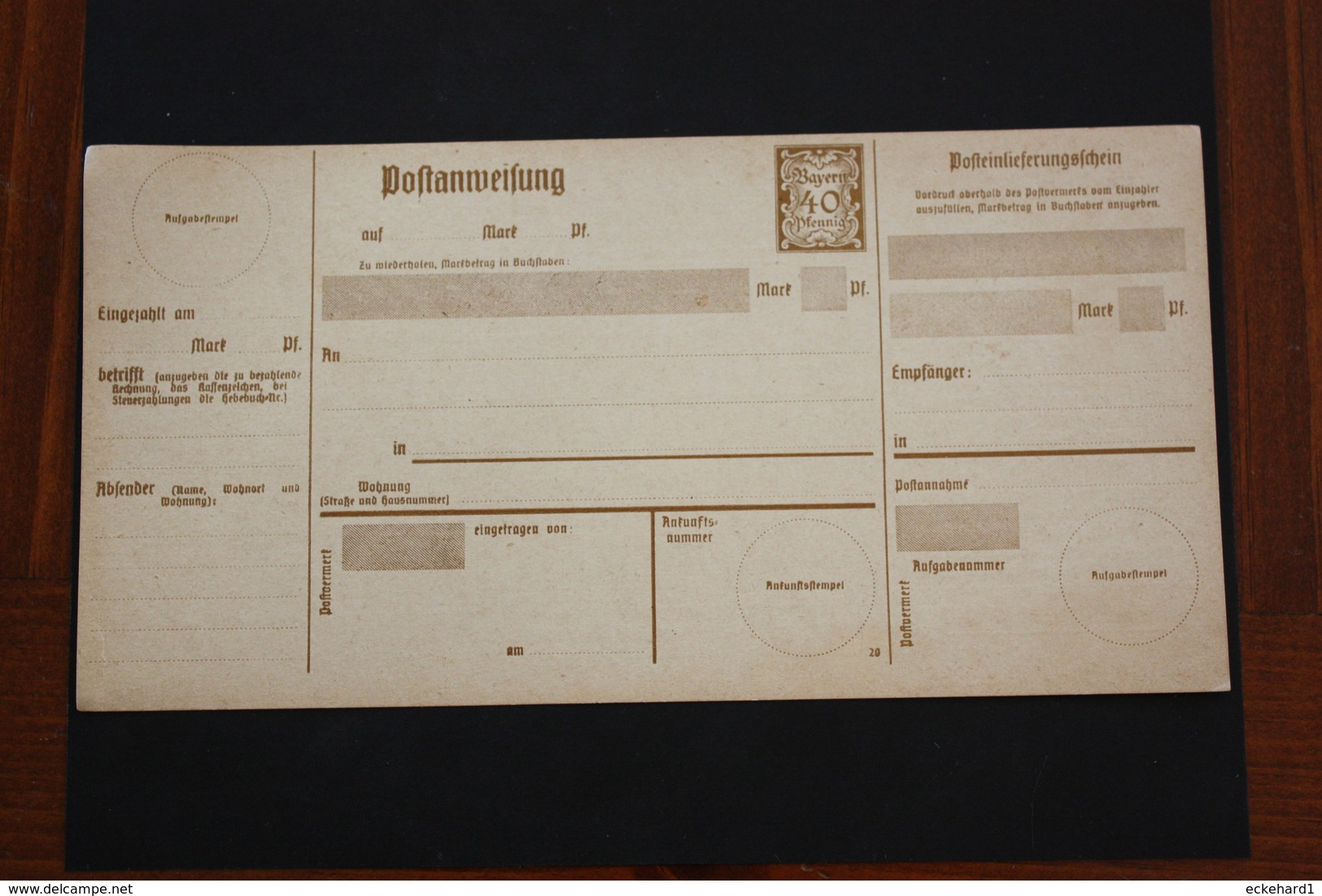( 331 )  A 117 * -  Siehe Beschreibung - Bayern (Baviera)