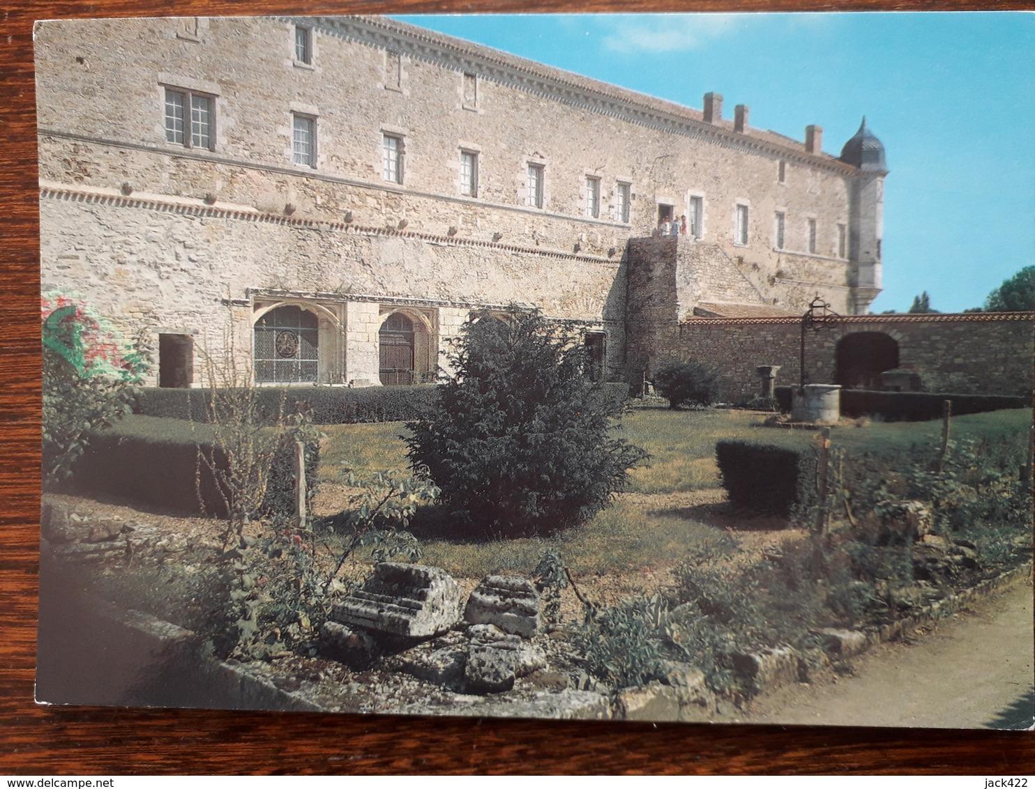 L4/281 Jard Sur Mer . Abbaye Notre Dame De Lieu Dieu - France