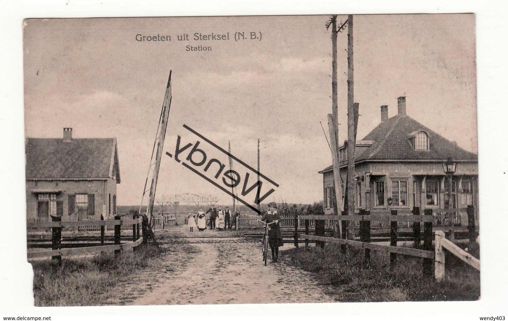Sterksel - Station - Pays-Bas