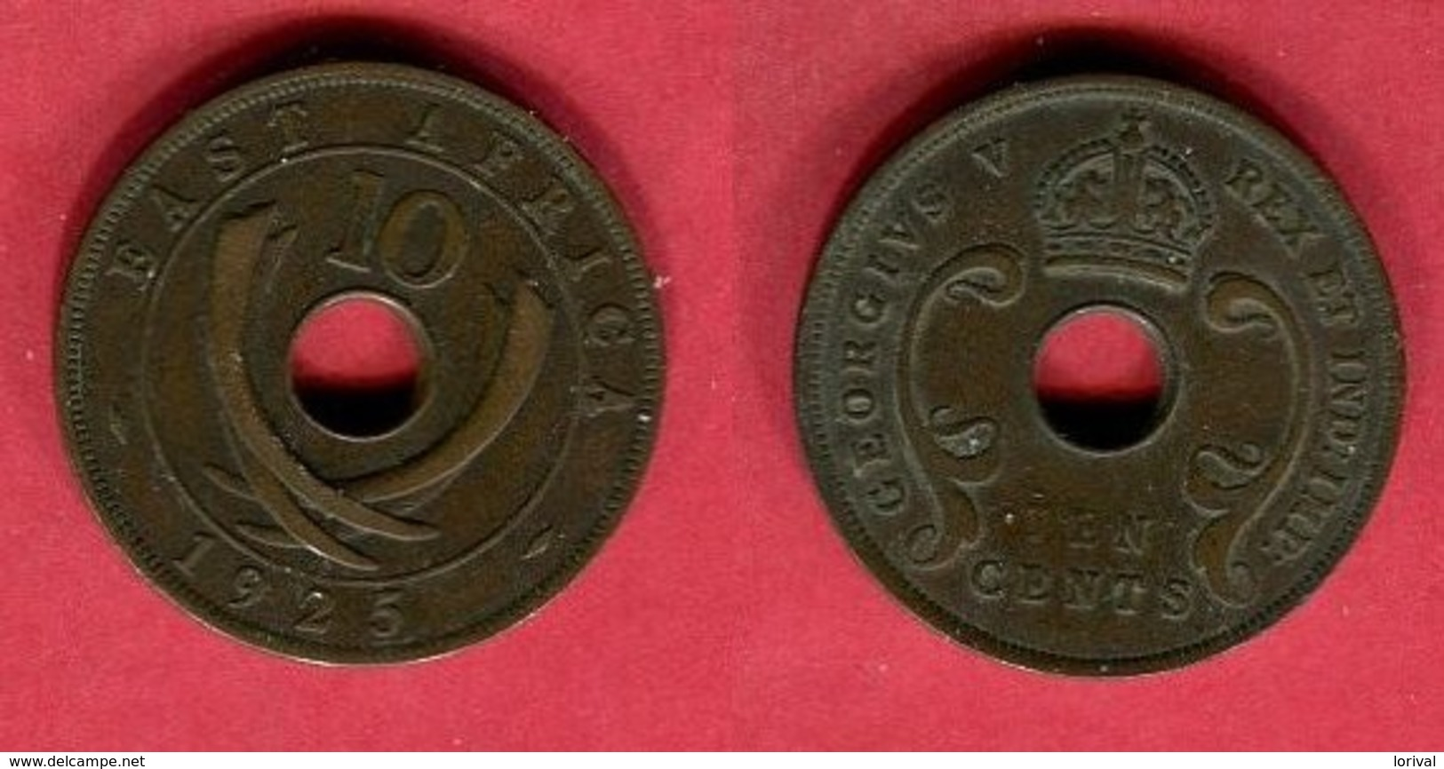 10 CENTS (KM 19 ) TB 3 - British Colony