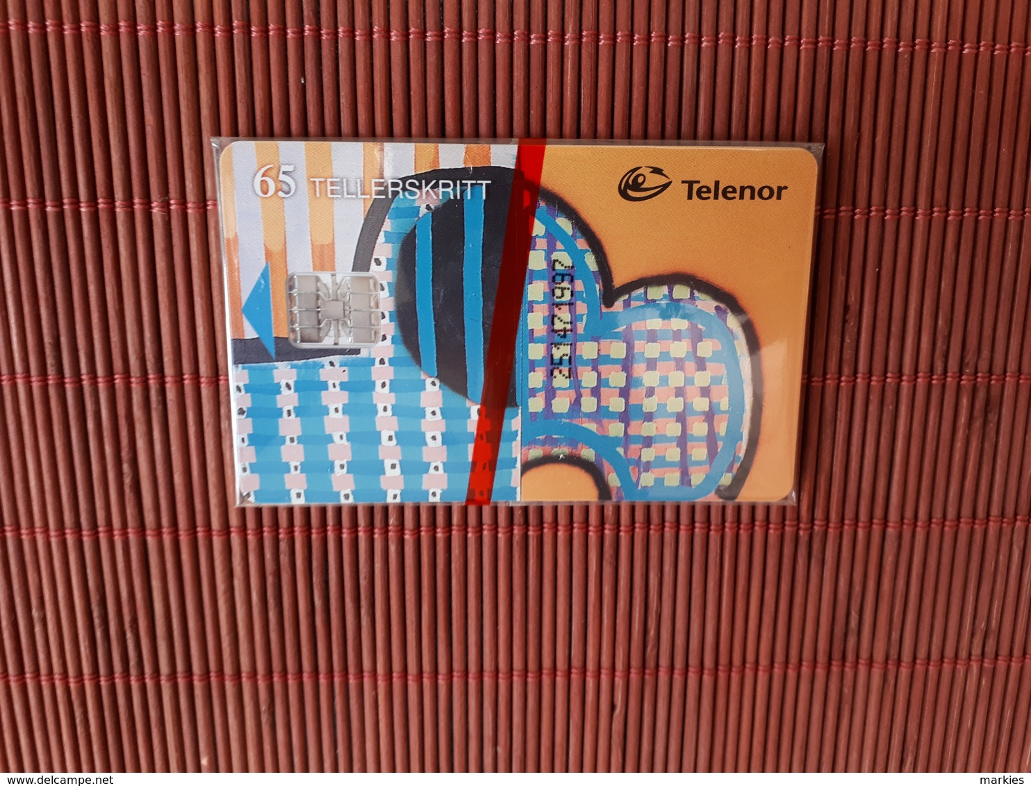 Phonecard Norway New With Blister   Rare - Norvège