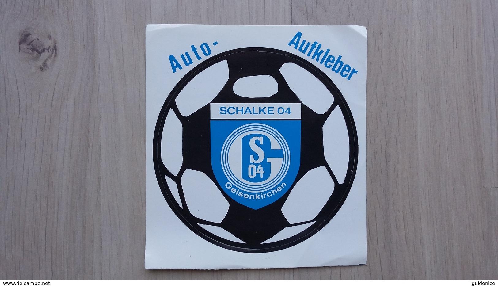 Schalke 04-Aufkleber - Autocollants