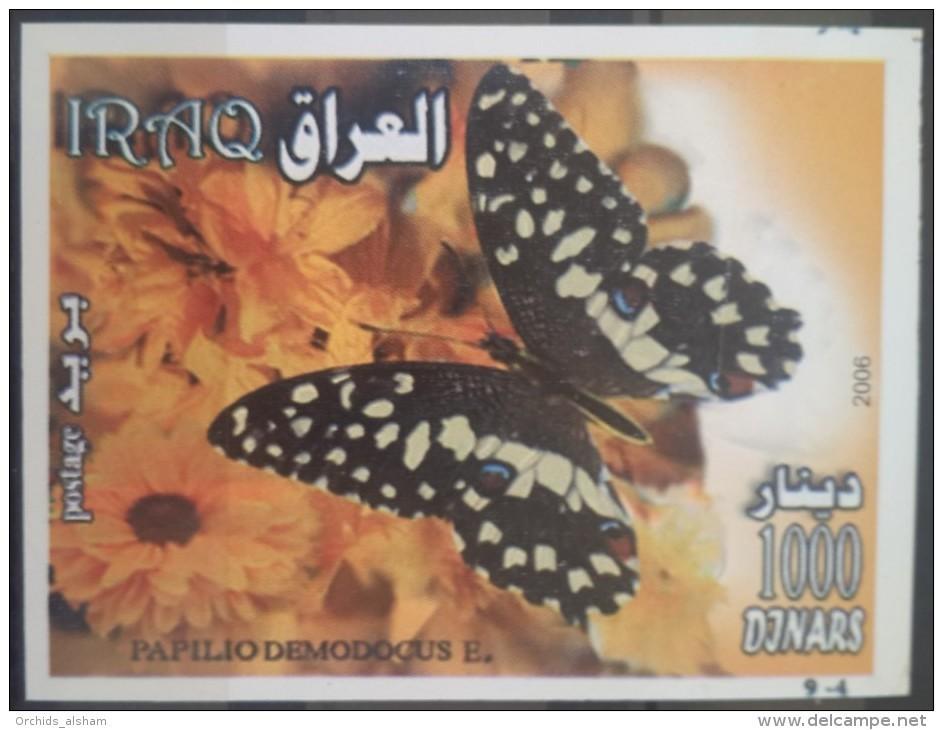 I20- Iraq 2007 Mi.Block 113 S/S MNH - Souvenie Sheet - Butterfly - Iraq