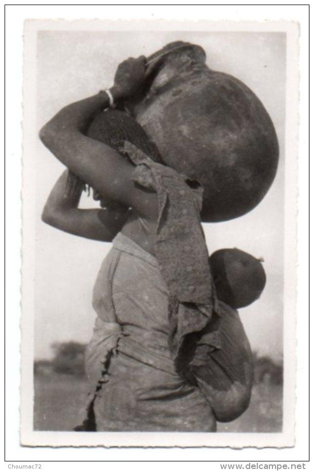 Tchad 032, AEF, Pauleau 980, Porteuse D'eau Et Son Enfant - Tschad