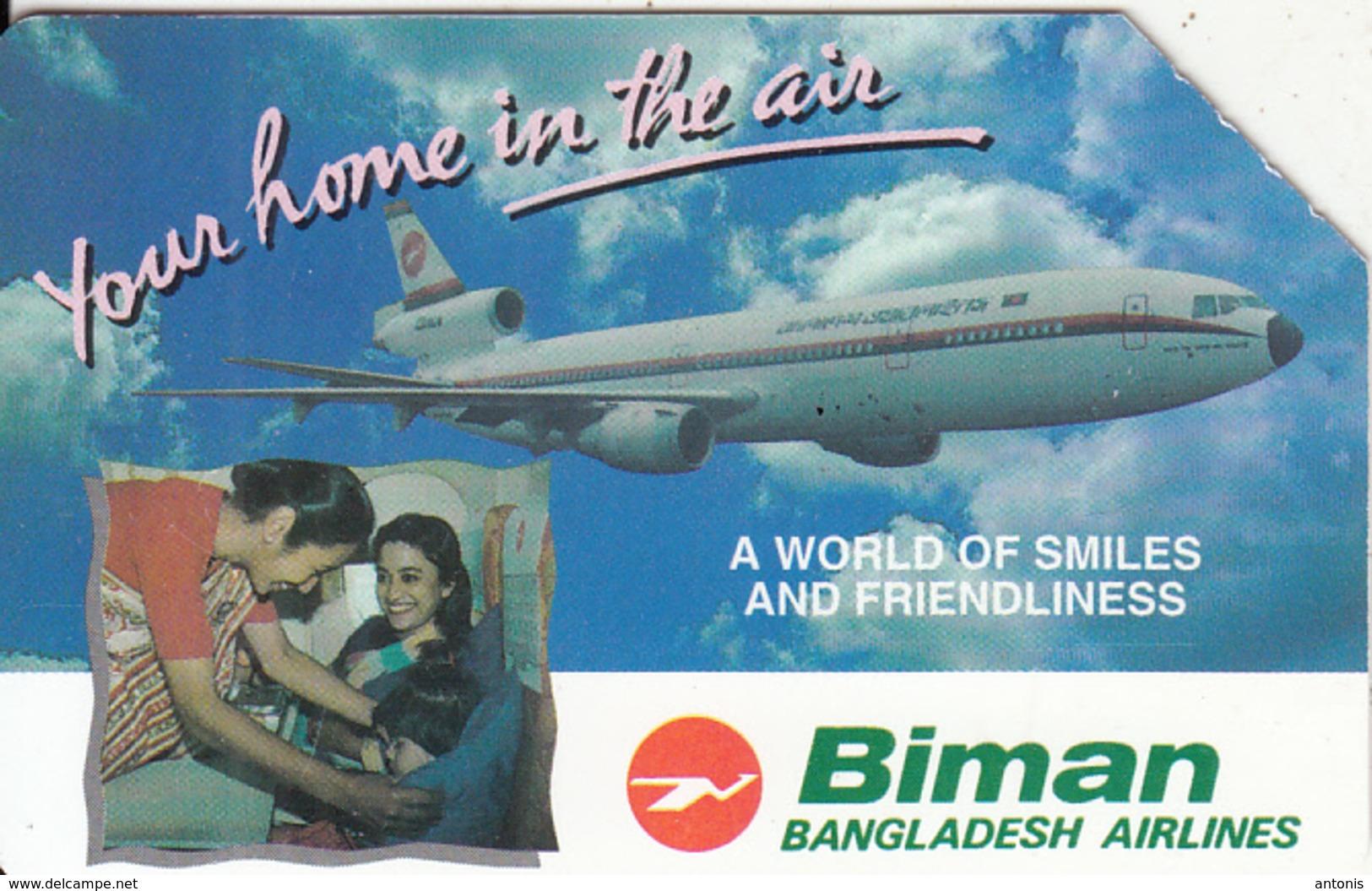BANGLADESH(Urmet) - Biman Bangladesh Airlines, Used - Bangladesh