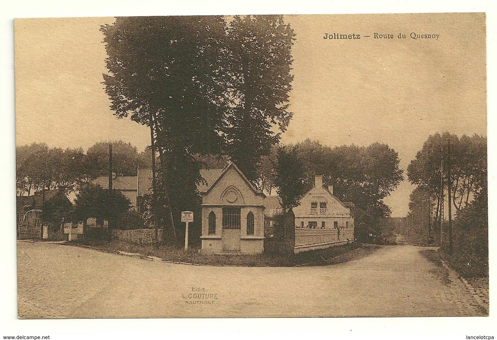59 - JOLIMETZ / ROUTE DU QUESNOY - Other Municipalities