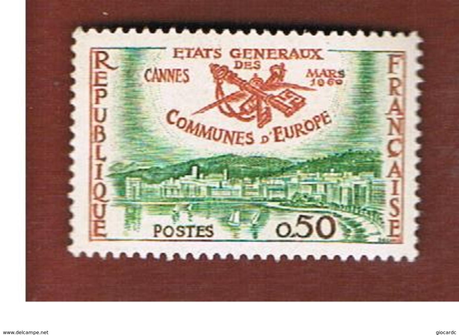 FRANCIA  (FRANCE)      -  SG  1474  -   1960 SUMMIT EUROPEAN MEYORS   - MINT ** - Ungebraucht
