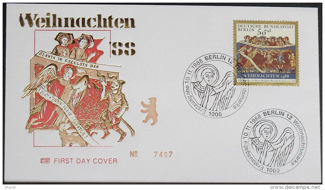 BERLIN 1988 Mi-Nr. 829 FDC - Berlin (West)