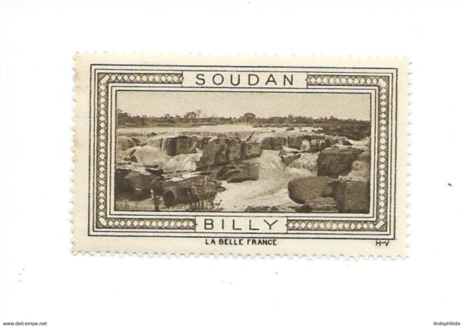 Soudan AOF BILLY Vignette Belle France TB ** Colonies Françaises - Soudan (1954-...)