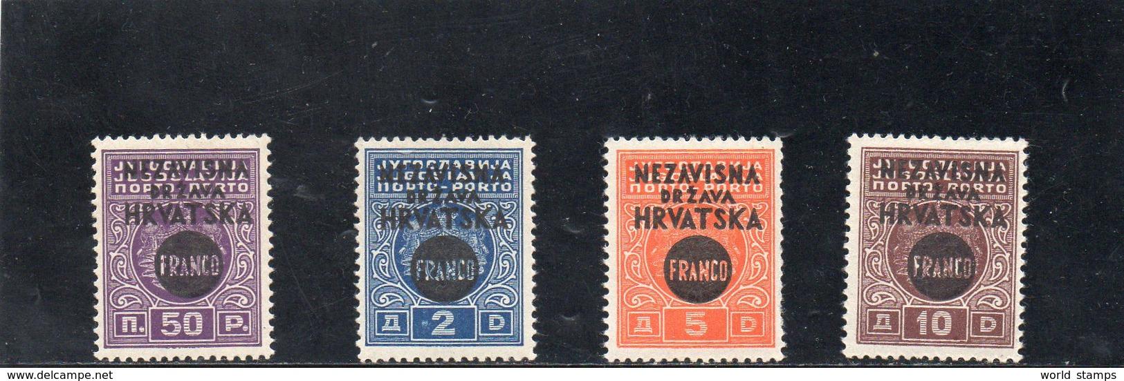 CROATIE 1941 ** - Croatia