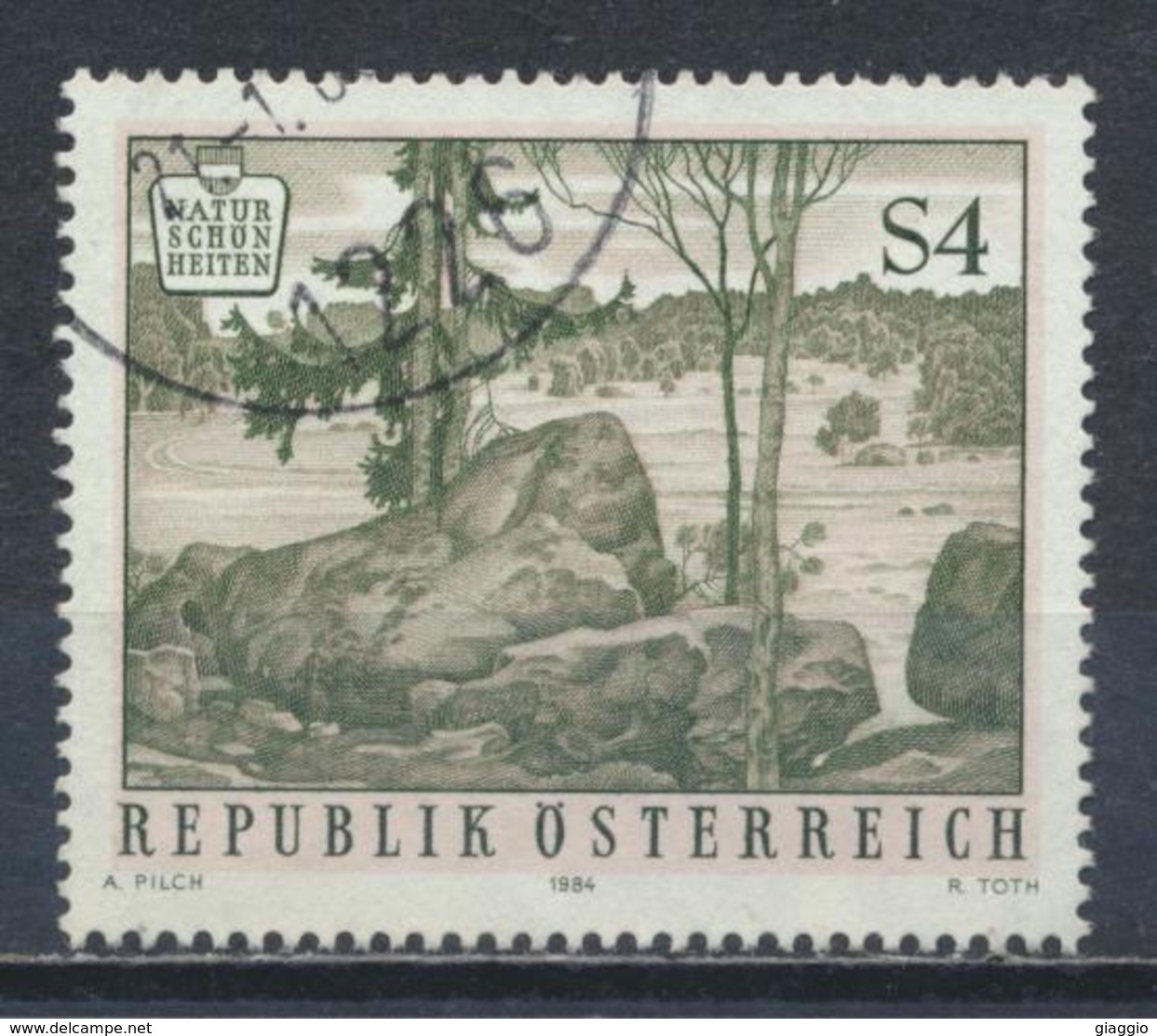 °°° AUSTRIA 1984 - Y&T N°1613 °°° - 1945-.... 2a Repubblica