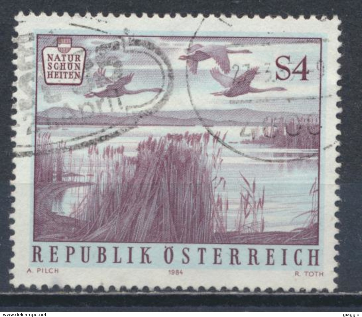 °°° AUSTRIA 1984 - Y&T N°1617 °°° - 1945-.... 2a Repubblica