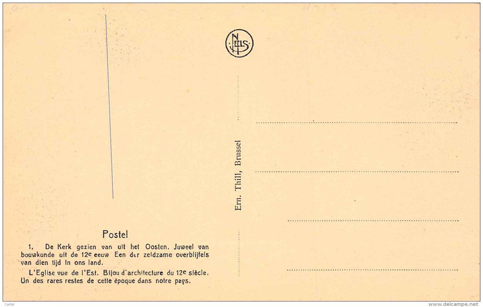 POSTEL - De Kerk Gezien Van Uit Het Oosten - Mol