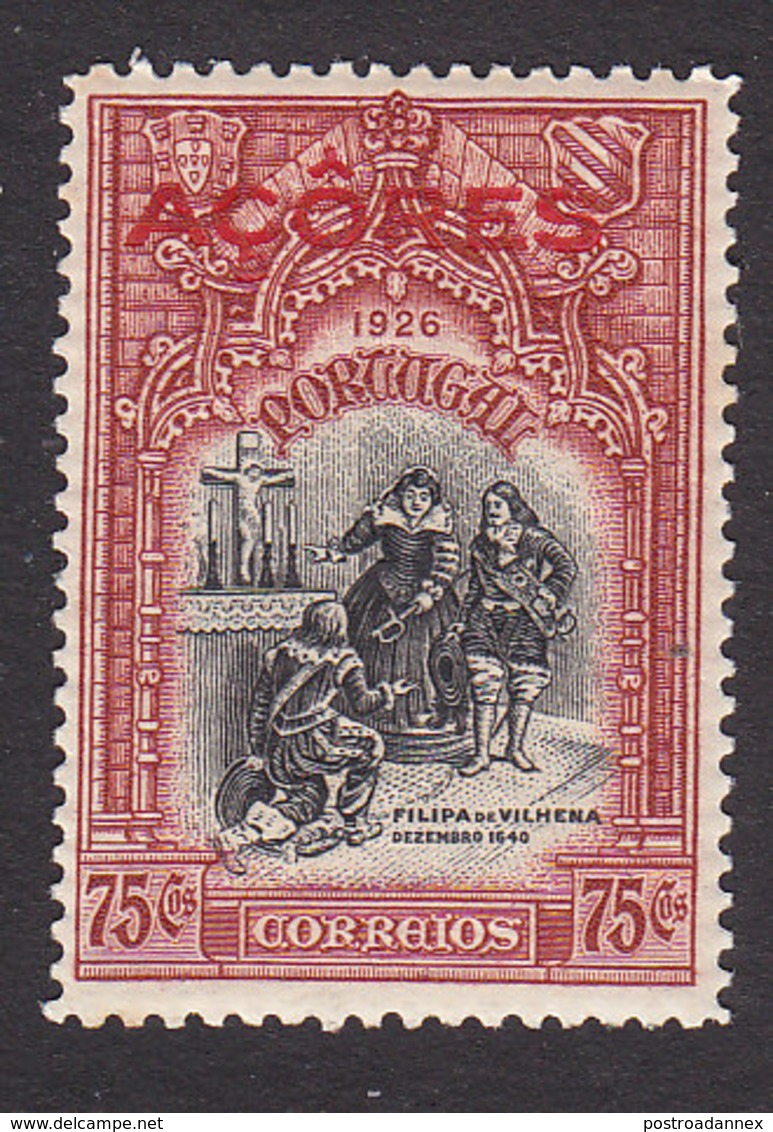 Azores, Scott #269, Mint Hinged, First Independence Overprinted, Issued 1926 - Azores