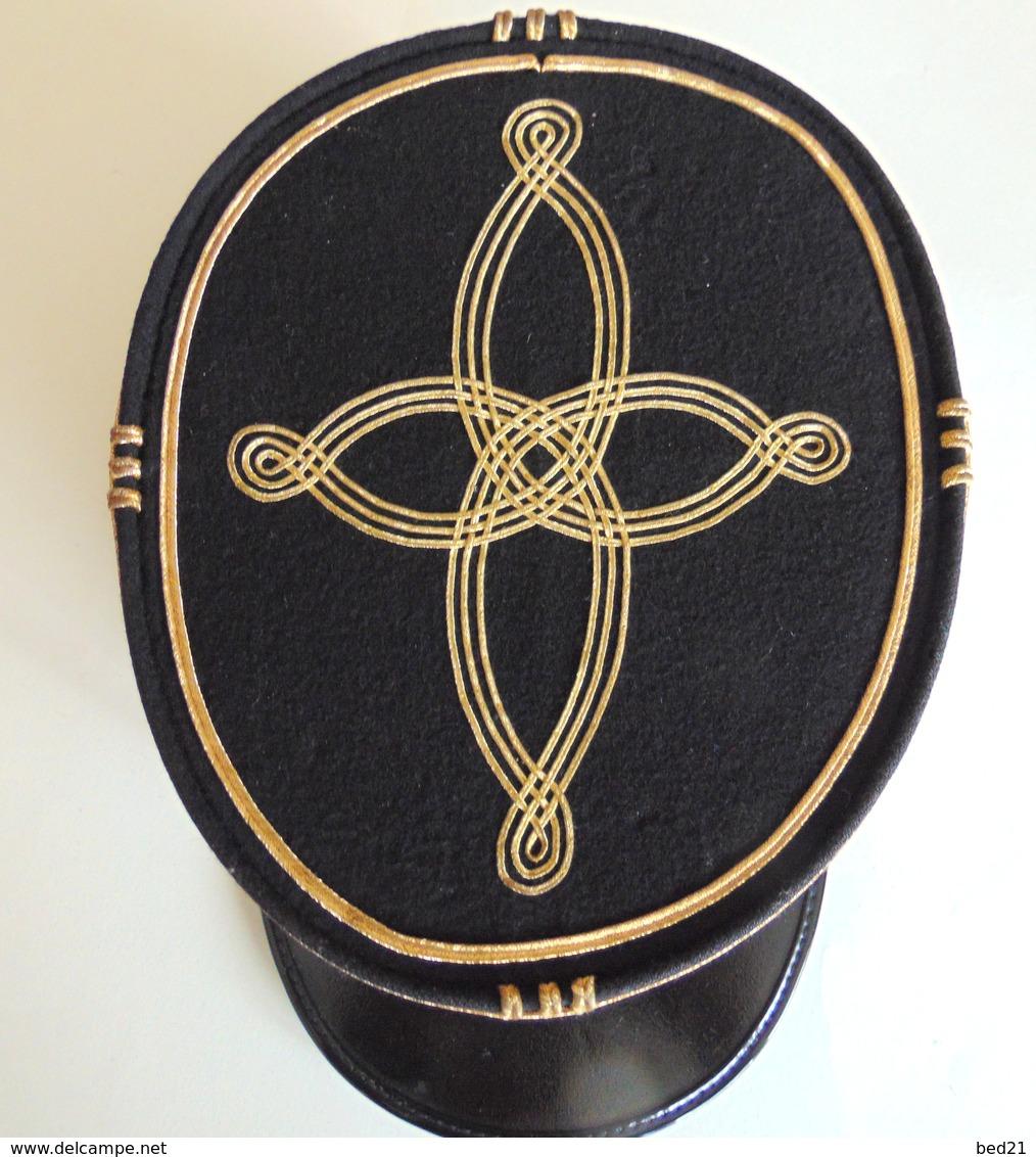ANCIEN KEPI LIEUTENANT COLONEL DU GENIE - Headpieces, Headdresses