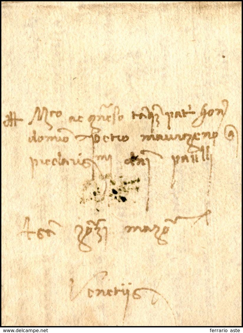 41 1479 - Lettera Completa Di Testo Da Padova 31/3/1479 A Venezia.... - Italie