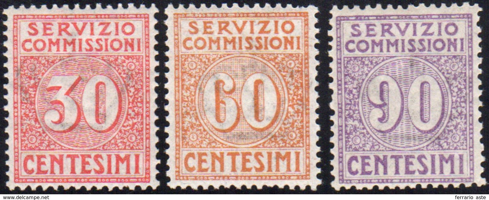 1323 1913 - Prima Emissione (1/3), Ottima Centratura, Gomma Integra, Perfetti.... - Italy
