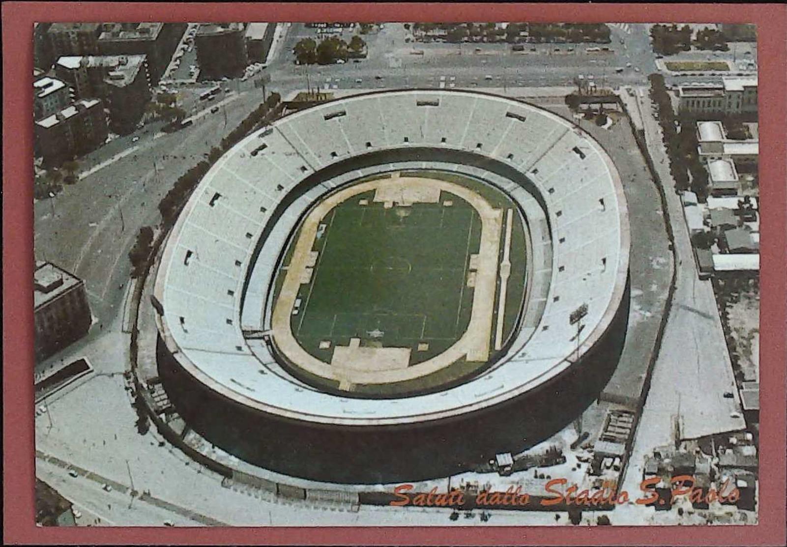 40 NAPOLI STADIO SAN PAOLO - ESTADIO – STADION – STADE – STADIUM – CAMPO SPORTIVO - Estadios