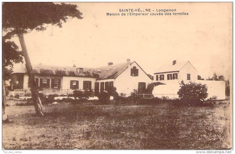 Sainte-Hélène - Longwood - Maison De L'Empereur Sauvée Des Termites (Publicité Anti-Termite Elen, Etabl. Décamps) - Sant'Elena