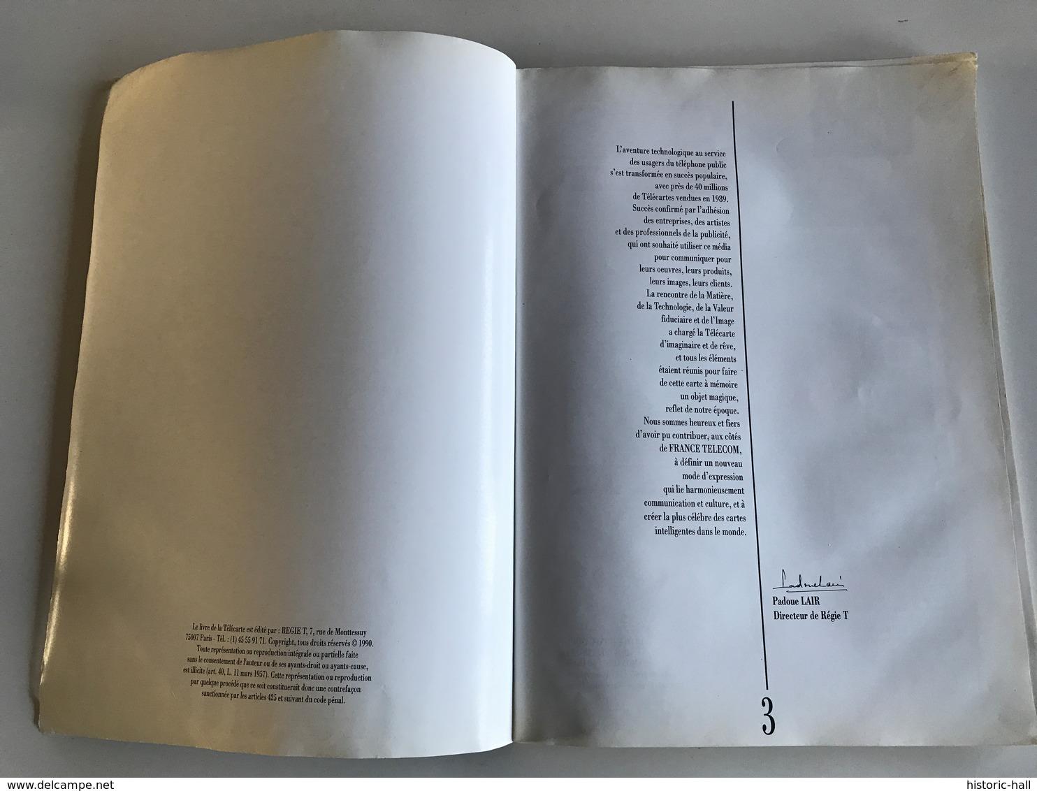 Le Livre De La TELECARTE Année 1989 - Telefonkarten