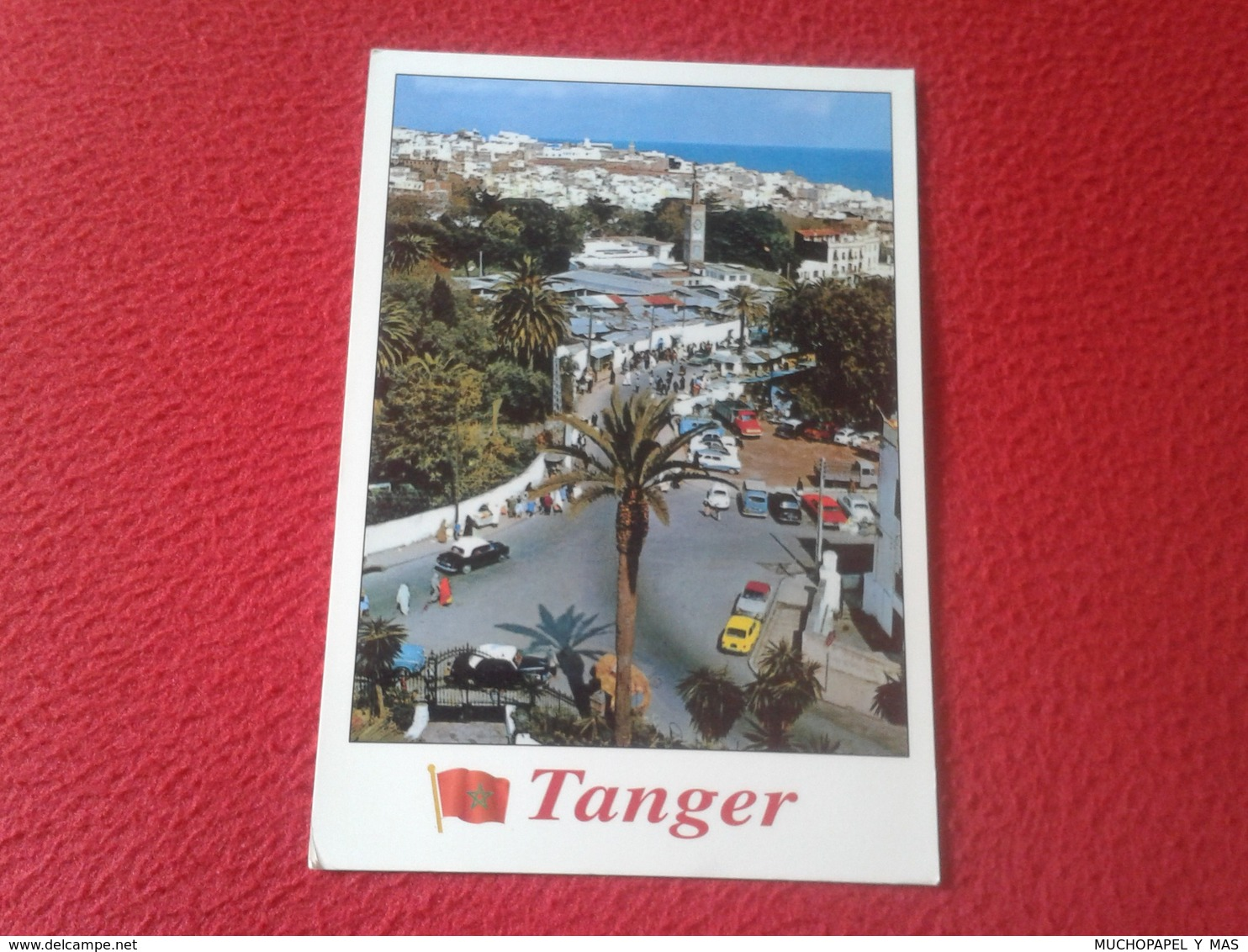POSTAL POST CARD CARTE POSTALE MARRUECOS MAROC MOROCCO TANGER VUE PARTIELLE AFRIQUE AFRICA VER FOTO/S Y DESCRIPCIÓN. - Tanger