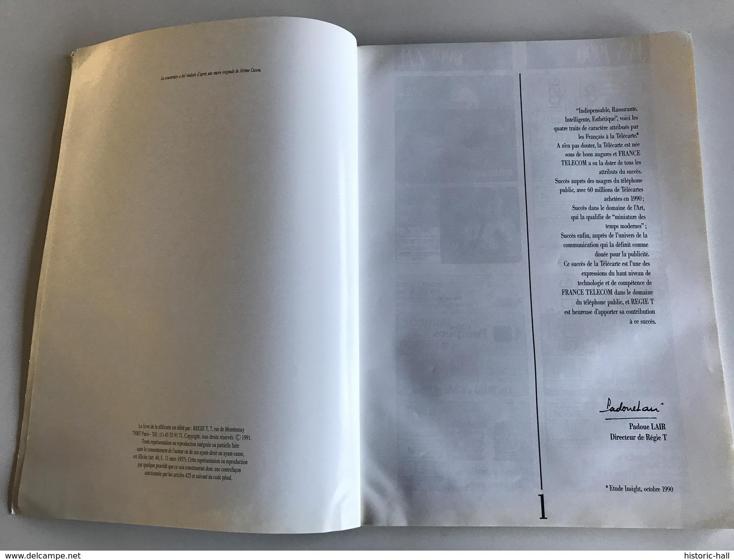 Le Livre De La TELECARTE N°3 Année 1990 - Kataloge & CDs