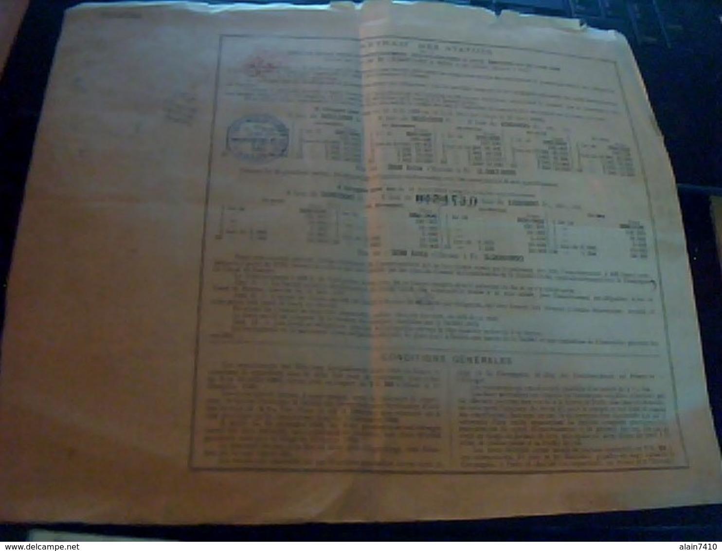 Vieux Papier  Bon Au Porteur Compagnie Universelle  Du Canal Interoceanique  De  Panama  1888/1889 - Actions & Titres