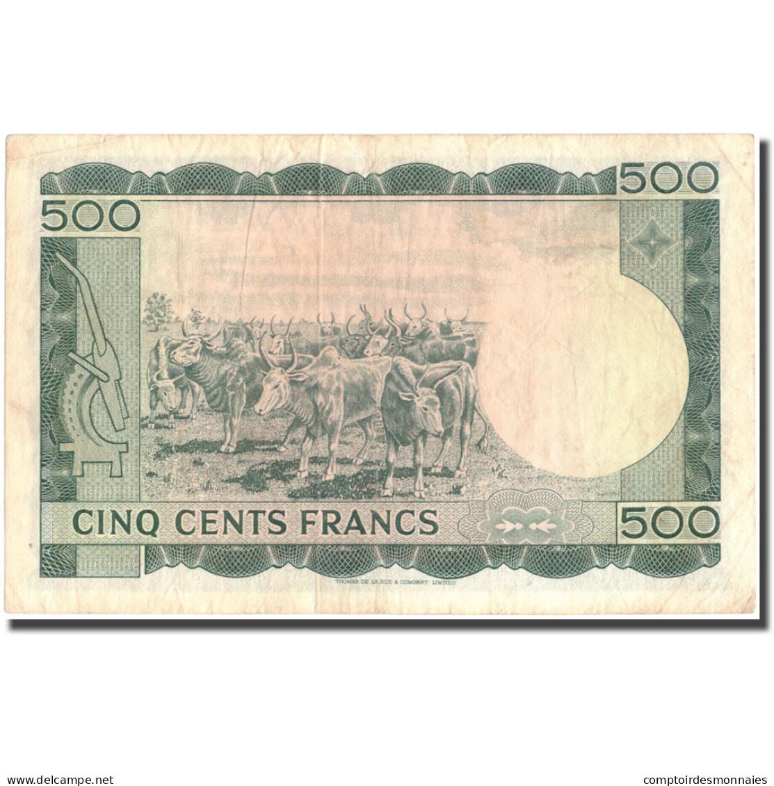 Billet, Mali, 500 Francs, 1967, 1960-09-22, KM:8a, TTB - Mali