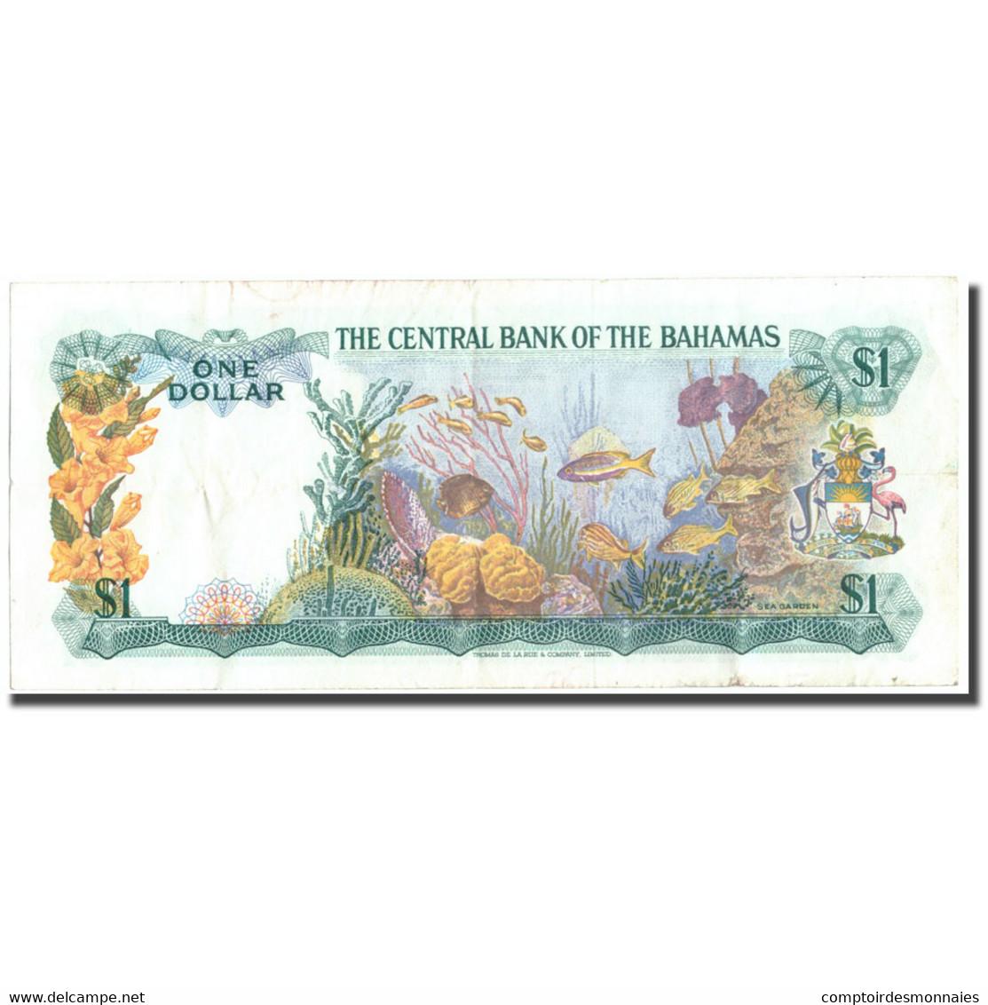 Billet, Bahamas, 1 Dollar, 1974, KM:35b, TTB - Bahamas