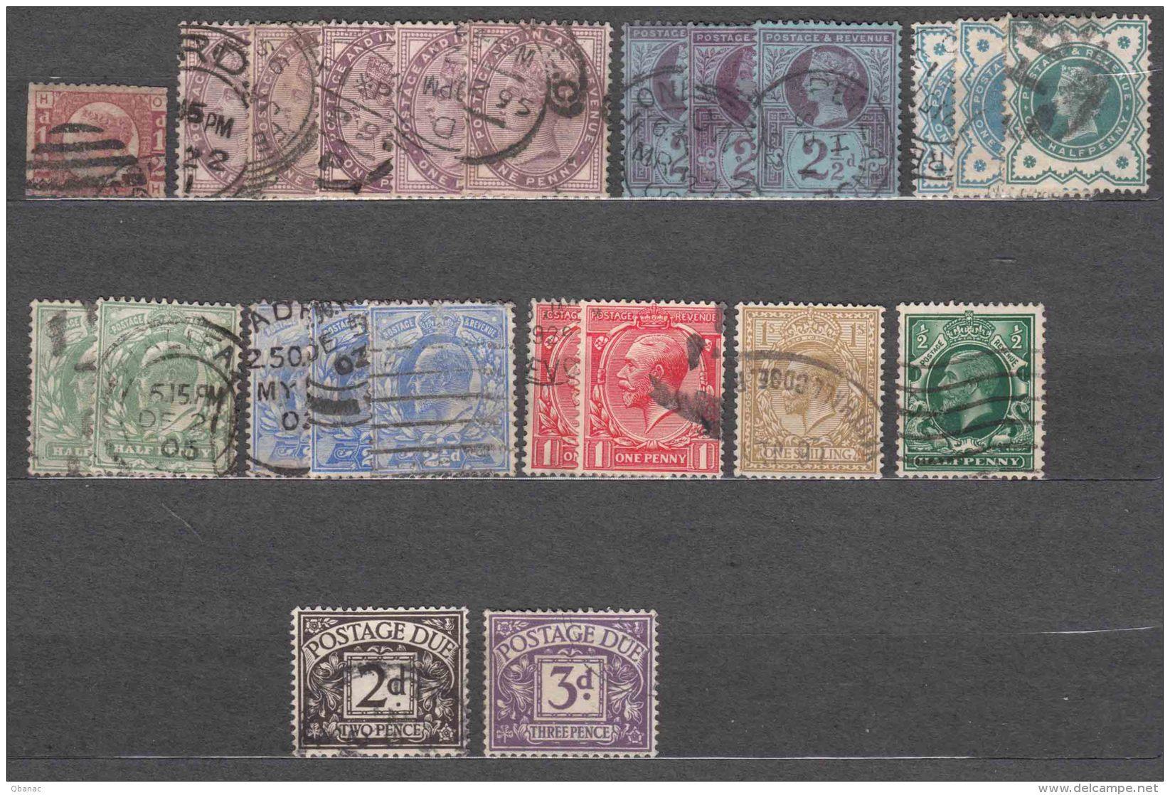 Great Britain Classics Lot - 1840-1901 (Victoria)