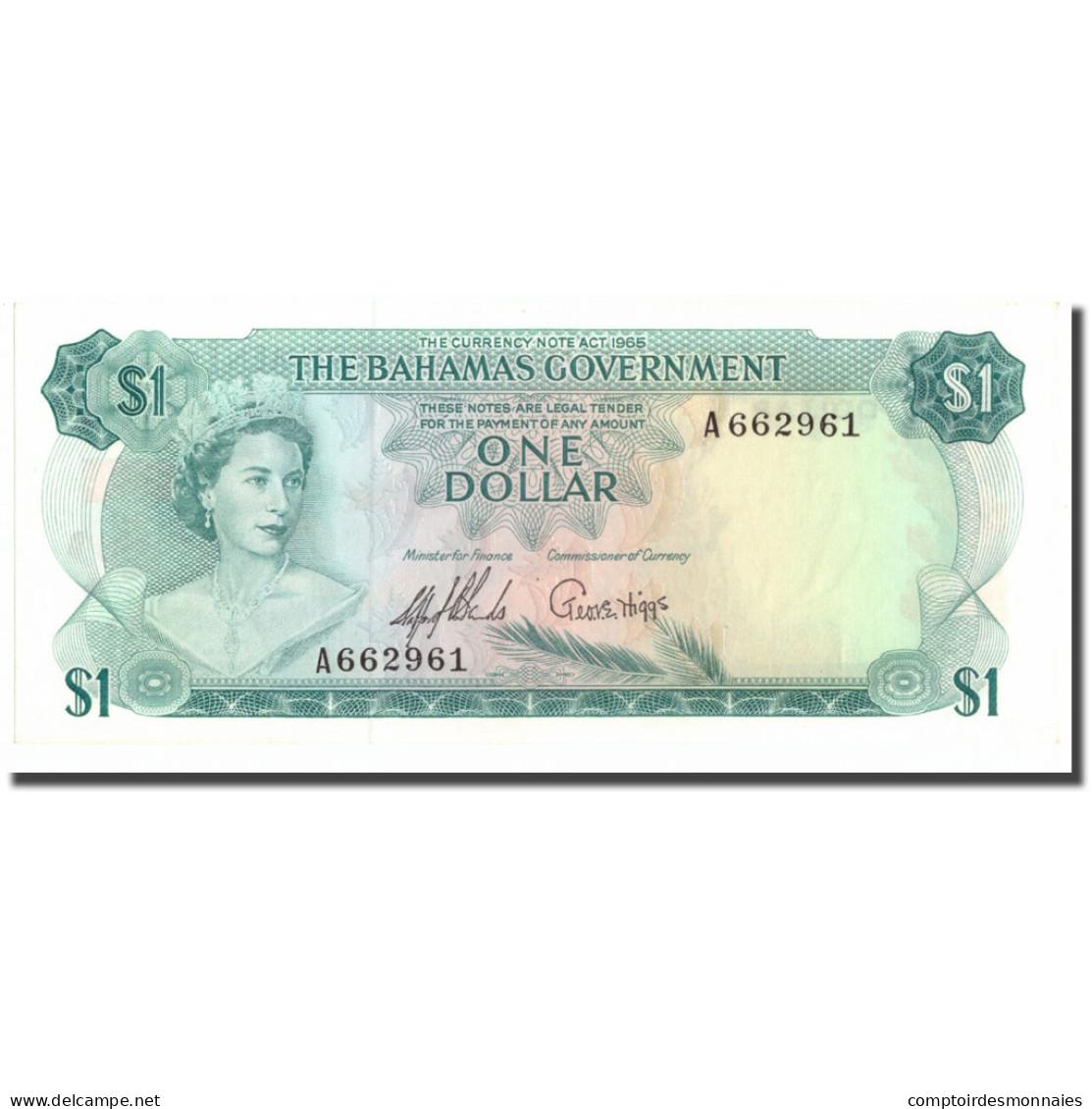 Billet, Bahamas, 1 Dollar, 1965, KM:18a, SPL+ - Bahamas