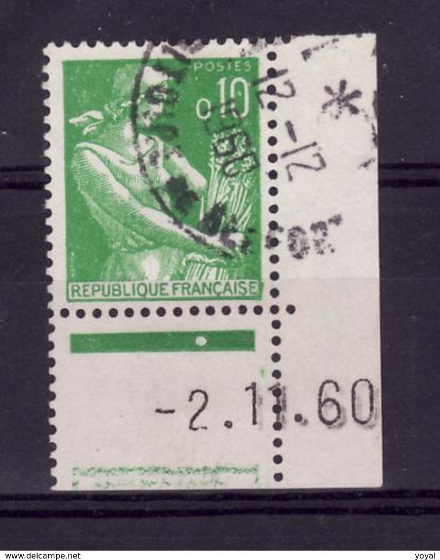 Coin Daté 2/1/60 Obli F236 - 1960-1969