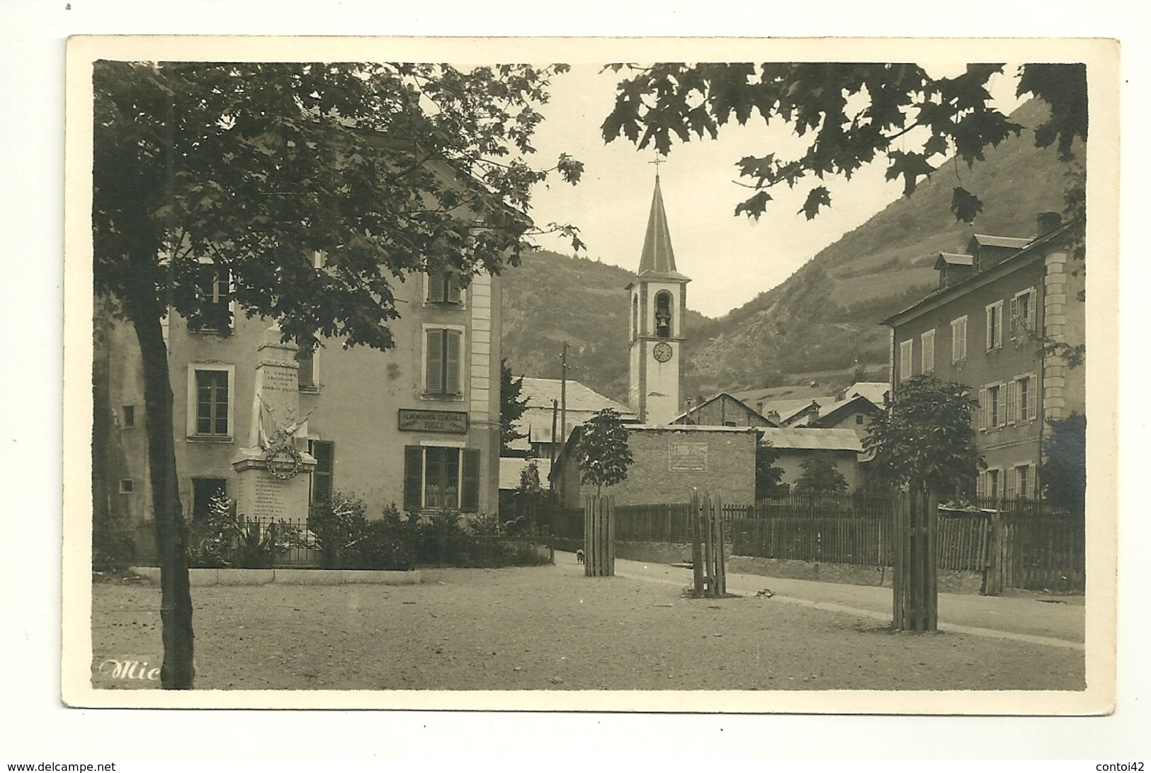 04 LA CONDAMINE MONUMENT AUX MORTS GUERRE ALIMENTATION PIASCO EDITEUR MIC VALLEE UBAYE - France