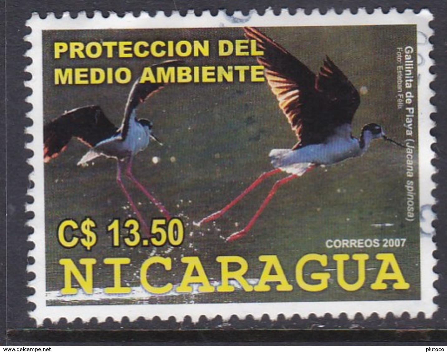 NICARAGUA, USED STAMP, OBLITERÉ, SELLO USADO, - Nicaragua