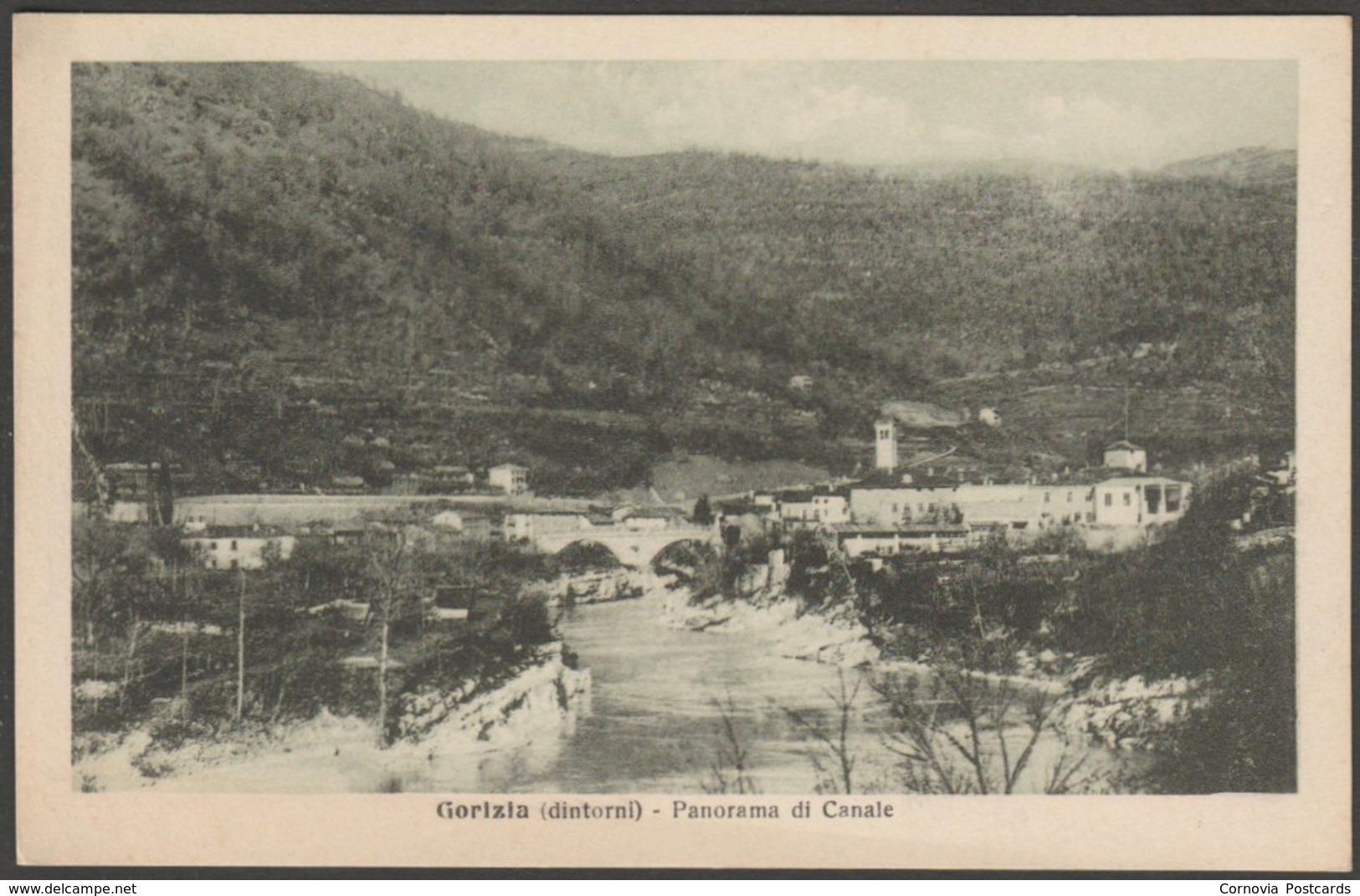 Panorama Di Canale, Gorizia, Friuli, C.1910s - Alterocca Cartolina - Slovenia