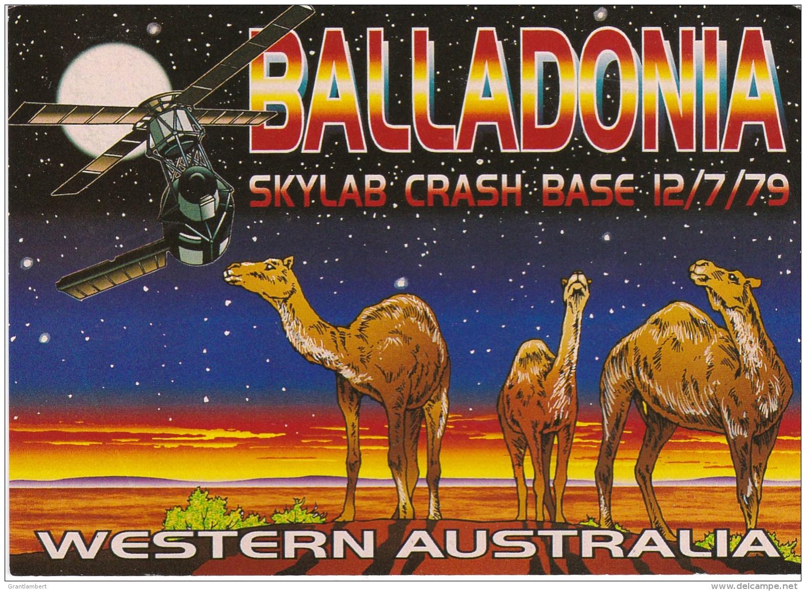 BALLADONIA Skylab Crash Base 1979, Western Australia Unused - Australia