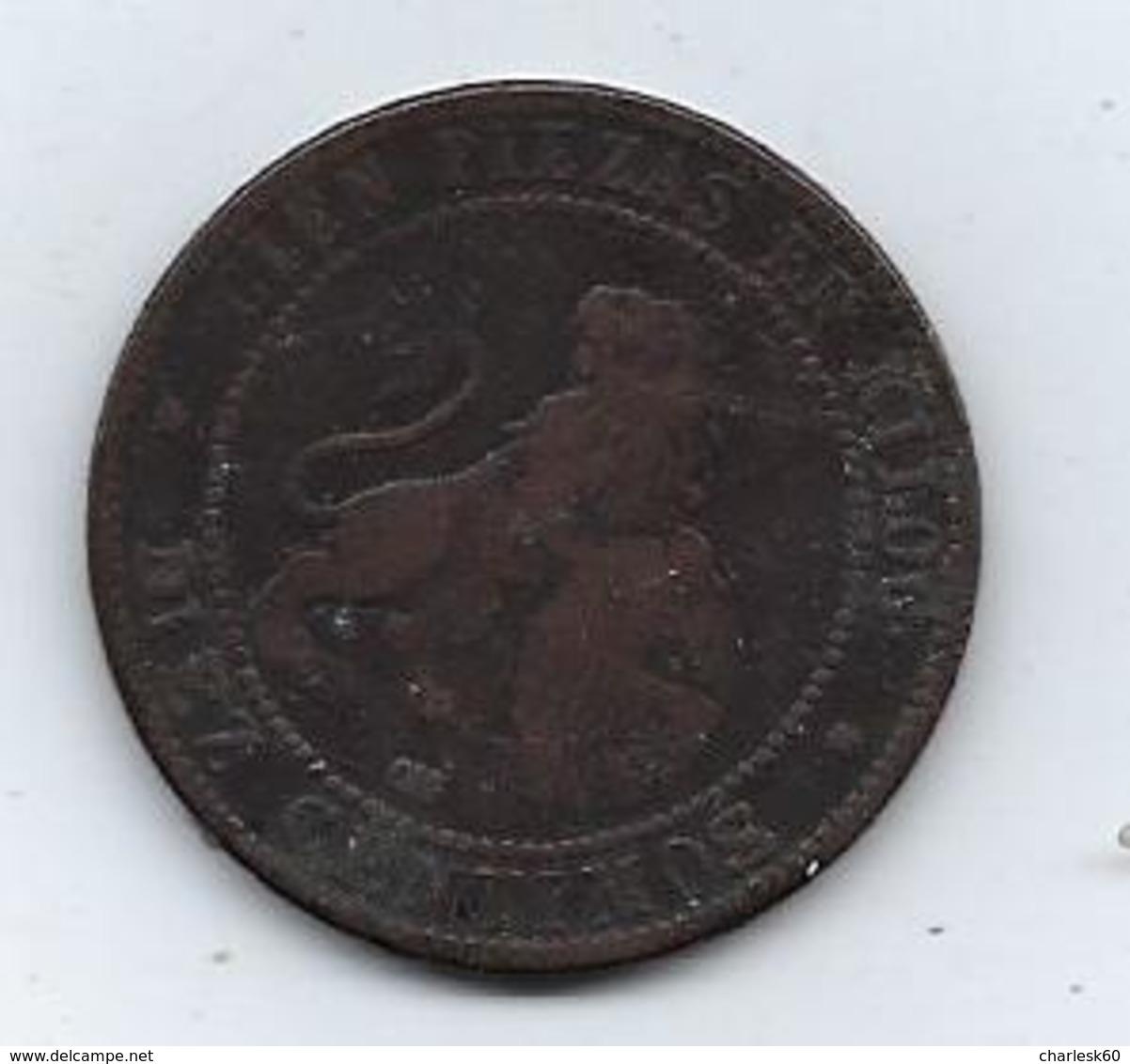 Espagne Diez Gramos 1870 Cien Pieza En Kilog. 10 Centimos - 10 Centimos