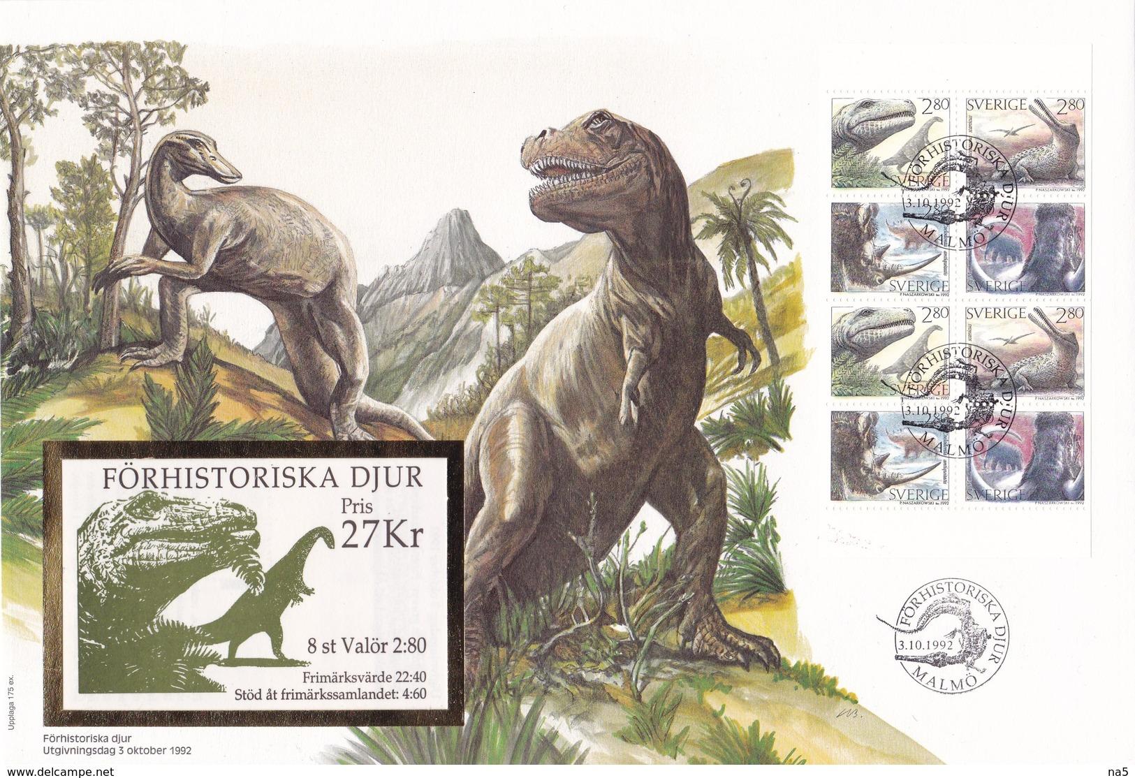 Switzerland 1992 FDC With Booklet! - Briefmarken