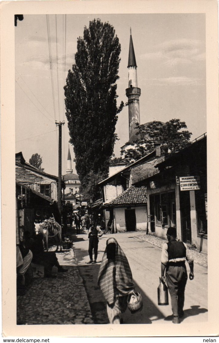 BOSNIA-SARAJEVO-MERCATO -NON VIAGGIATA-REAL PHOTO - Bosnia Erzegovina
