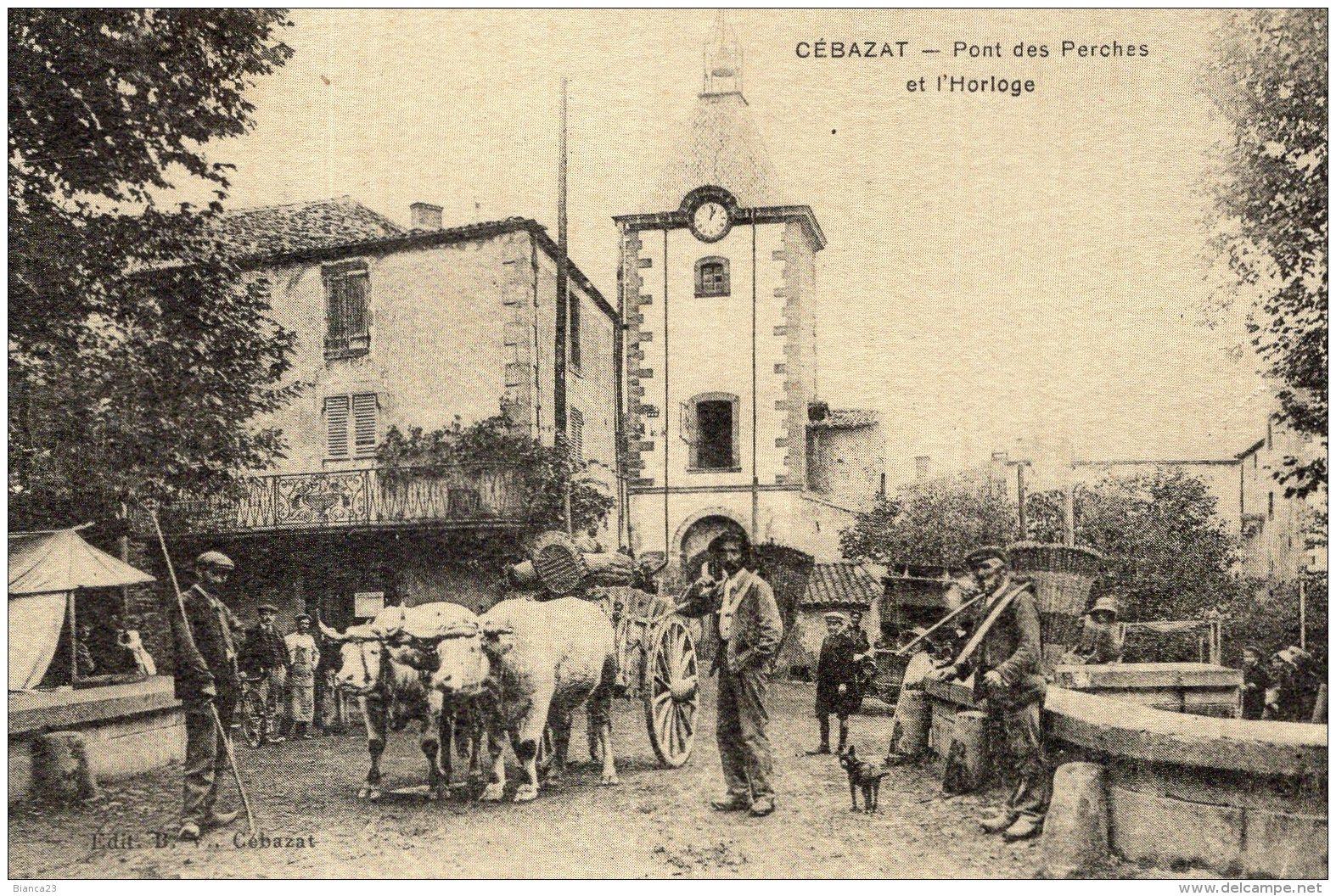 "B52458 Cébazat - Pont Des Perches "" Reproduction "" - Non Classificati"
