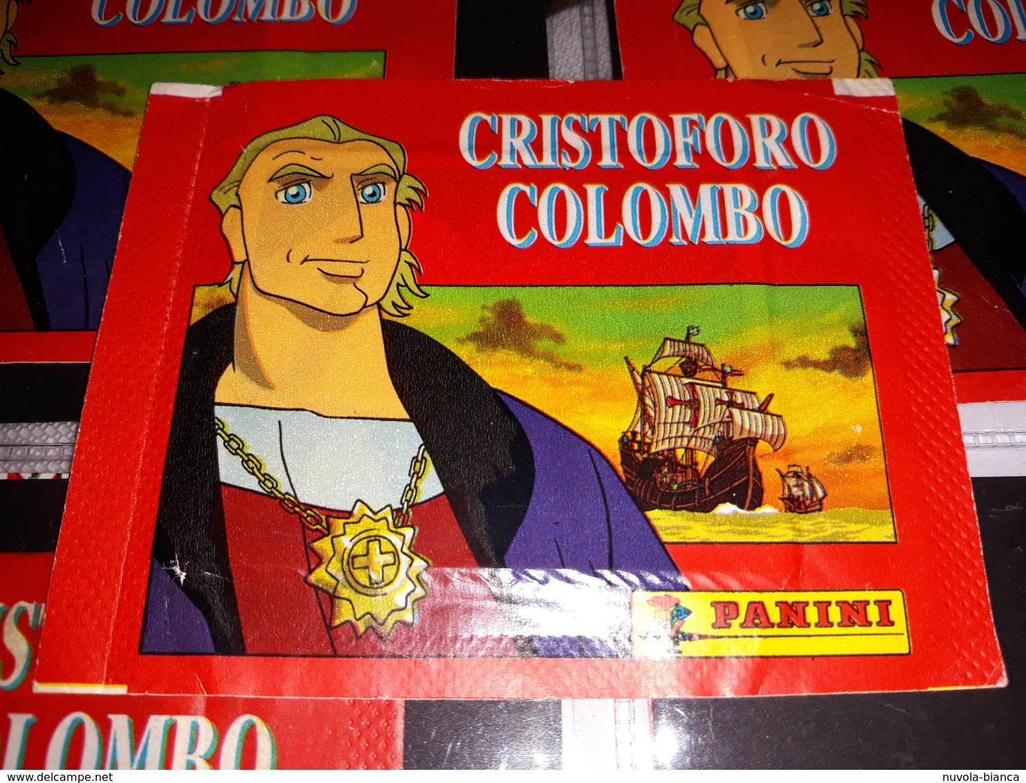 Cristoforo Colombo Bustina Con Figurine Panini - Edizione Italiana