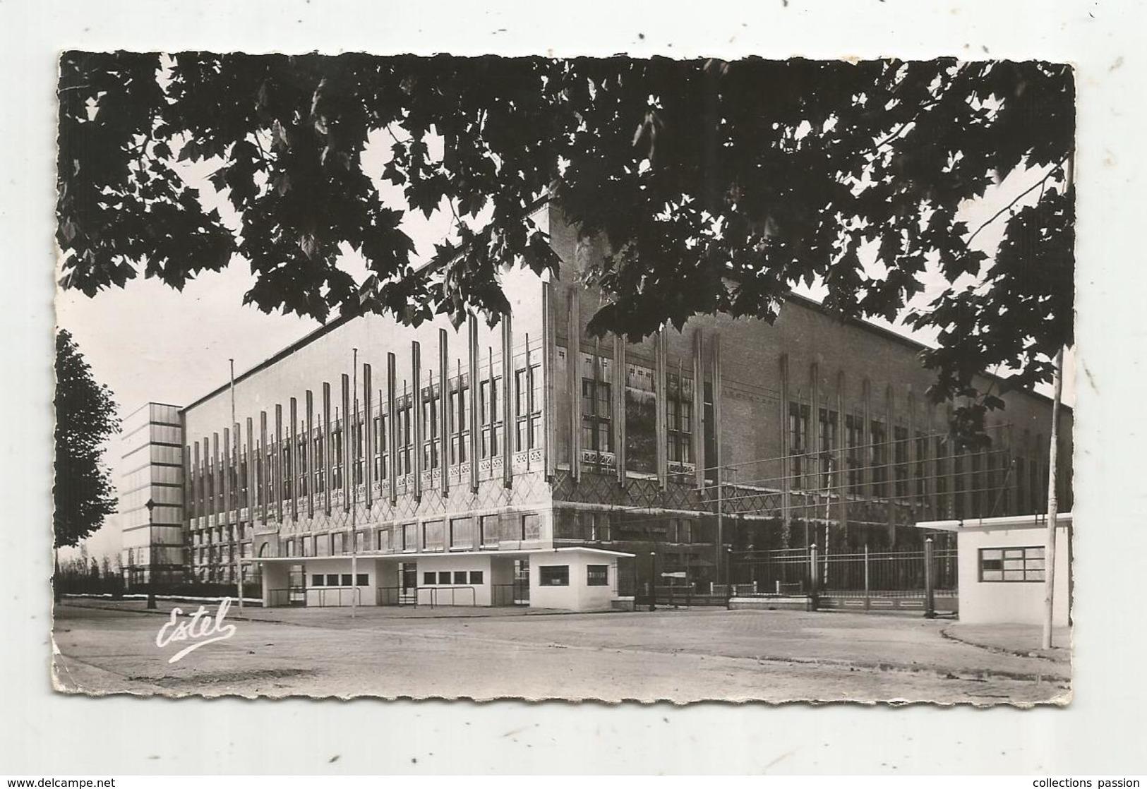 Cp , 59 , LILLE , Le Hall Des Expositions , Voyagée 1958 , Ed. Estel - Lille
