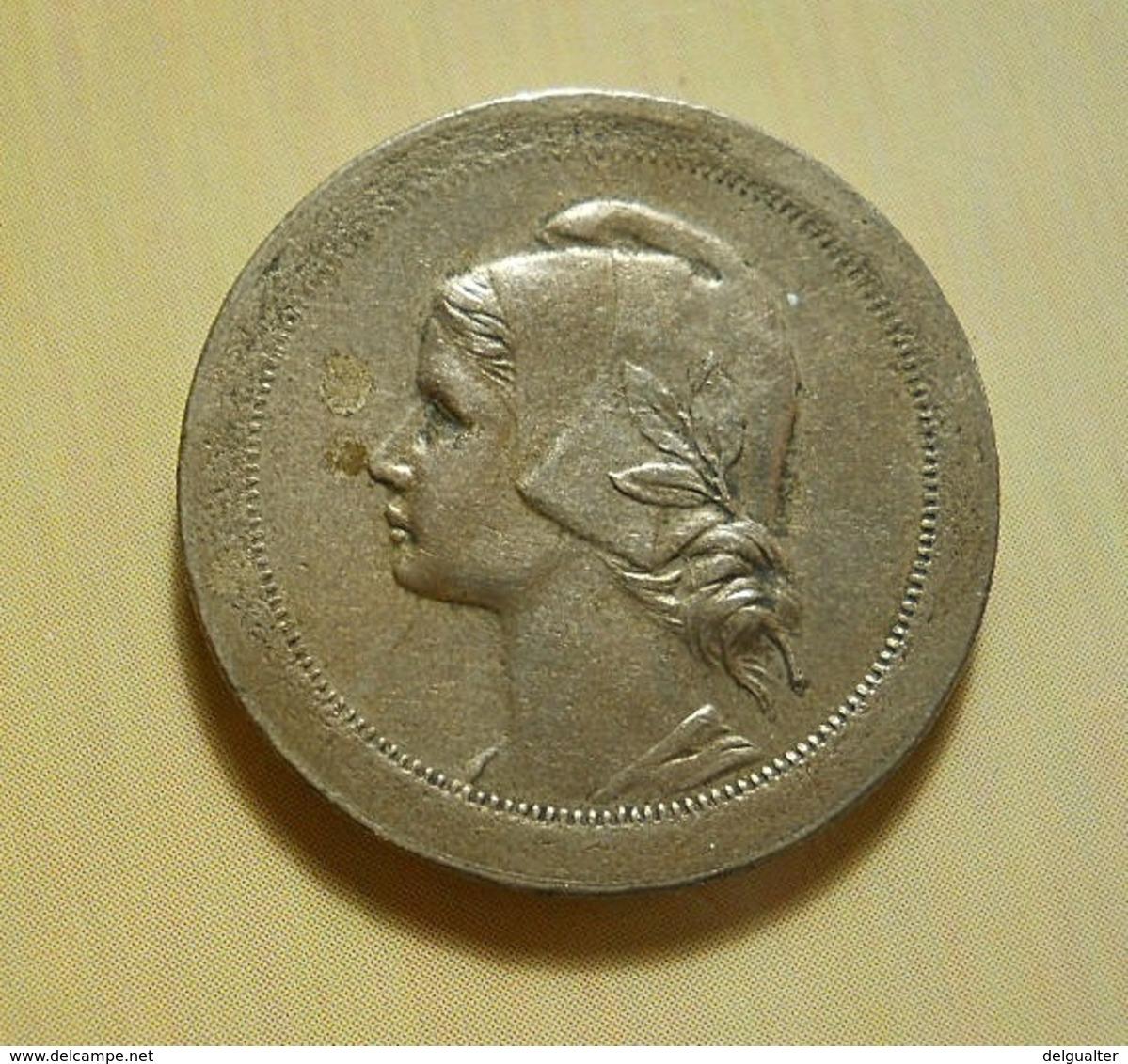 Portugal 20 Centavos 1921 ''Open P'' - Portugal